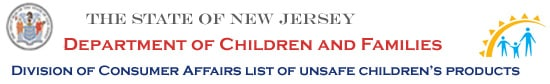 The State of New Jersey Department of Children and Families
